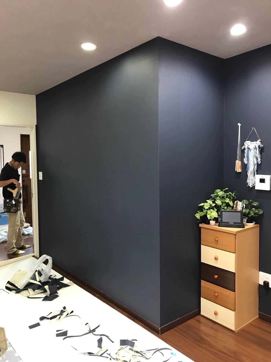 福岡県久留米市にて外壁塗装やリフォーム クロス 壁紙張替え 費用
